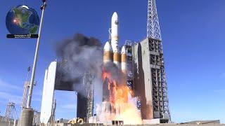 [4K] Delta IV Heavy launch fireball + 4K highlight clips, NROL-71 (1/19/2019)