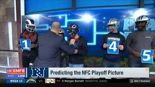 Predicting the NFC Playoff Picture | Good Morning Football Today