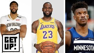 Jalen predicts Anthony Davis will be a Laker in 2019, Jimmy Butler traded to Heat | Get Up! | ESPN