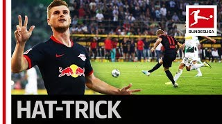 Timo Werner's First Hat-Trick - All 3 Goals