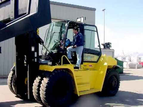Hyster H450 HDS-TH22 Tire Handler 22,000 lbs