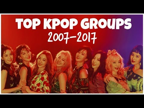 [TOP 43] TOP KPOP Groups of the Last Decade l 2007-2017