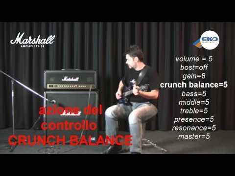 MARSHALL MA 100H: amplificatore valvolare per chitarra