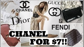 LUXURY DESIGNER THRIFT HAUL! How To Find Vintage Designer for under $5!