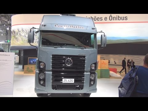 Volkswagen Constellation 25.420 Prime Series Tractor Truck Exterior and Interior in 3D