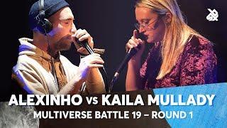 ALEXINHO vs KAILA MULLADY | Multiverse Beatbox Battle 2019 | 1st Round