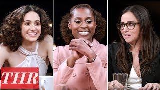 THR Full Comedy Actress Roundtable: Emmy Rossum, Issa Rae, Pamela Adlon, America Ferrera & More!