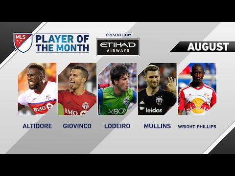 Etihad Airways Player of the Month nominees for August