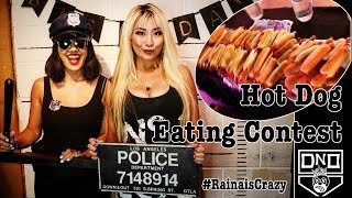 Hot Dog Eating Contest (3min) | Down n Out 9th Year Anniversary | RainaisCrazy