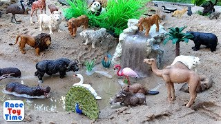 Lots of Wild Animal Toys Collection - Fun Toys For Kids