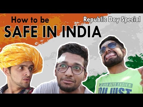 How to be Safe in INDIA || Republic Day Special || Funchod Entertainment || Funcho | FC
