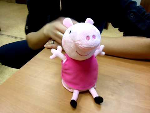 Свинка Пеппа мягкая игрушка купить в интернет-магазине