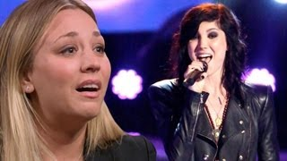 BRIANA CUOCO 'THE VOICE' AUDITION SINGS LADY GAGA! 5x03 VOICE CAP