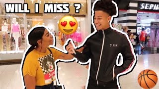 IF I SHOOT MY SHOT WOULD I MISS? 😍🏀 | Public Interview