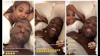 Dwyane Wade does a hilarious Q&A in bed with Gabrielle Union
