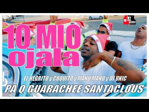 EL NEGRITO, EL KOKITO Y MANU - OJALA (YO SONE) PA Q GUARACHEE SANTA CLOUS (OFFICIAL VIDEO)