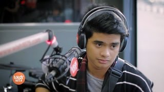 "Daniel Ombao covers ""Tadhana"" LIVE on Wish 107.5 Bus"