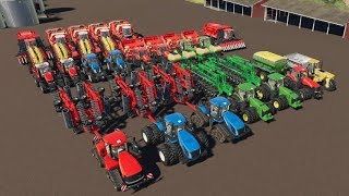 Building a 30 Million Dollar Farm on Ravenport | EP #1 | TIMELAPSE | Farming Simulator 19 | Fs19