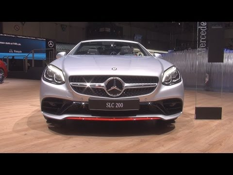 @MercedesBenz SLC 200 RedArt Edition (2017) Exterior and Interior in 3D