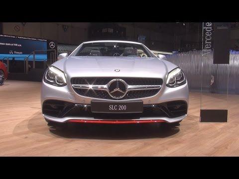 @MercedesBenz SLC 200 RedArt Edition (2017) Exterior and Interior in 3D