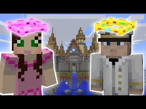 Minecraft: KING OF THE CASTLE CHALLENGE - Custom Mod Challenge [S8E2]