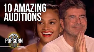 10 OF THE BEST BRITAIN'S GOT TALENT AUDITIONS