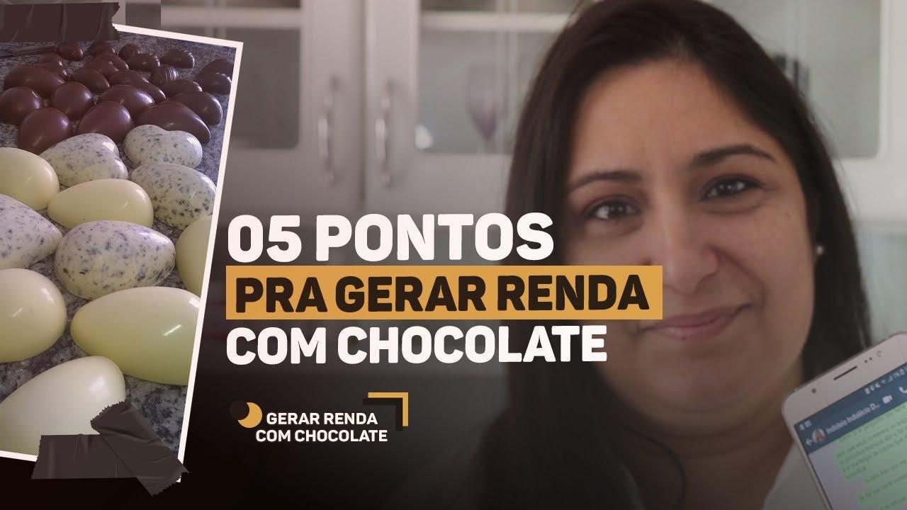 GERAR RENDA COM CHOCOLATE EM CASA: O QUE VOCÊ PRECISA SABER