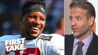 Saquon Barkley is the best running back prospect that ever lived – Max Kellerman | First Take