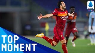 Pedro Scores Spectacular Goal For Roma | Roma 2-0 Lazio | Top Moment | Serie A