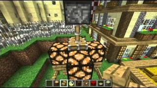 Minecraft: La Redstone ! Construction d'un lampadaire automatisé. Episode 1