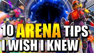APEX LEGENDS TIPS AND TRICKS | 10 ARENA TIPS I WISH I KNEW!