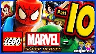 LEGO Marvel Super Heroes Walkthrough Part 10 Thor's Sinking Adventure!
