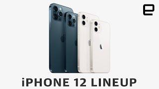 Apple iPhone 12 lineup comparison