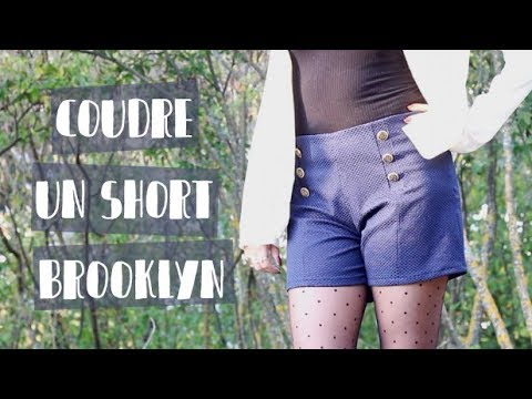 Coudre un short Brooklyn - Patron Couture Mouna Sew