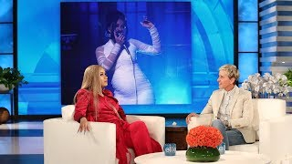 Cardi B Showed Ellen How She Got Pregnant