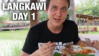 Flying from Bangkok to Langkawi, Malaysia (Day 1)