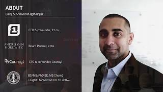 The Network State - Balaji SrinIvasan