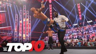 Top 10 Raw moments: WWE Top 10, Feb. 22, 2021