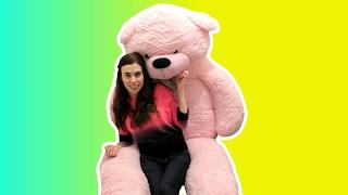 GIANT 7 FEET TALL TEDDY BEAR SURPRISE!!!