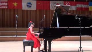 Nguyễn Lan Anh - J. Bach: Sinfonia No.8 - M.Moszkowski: Etude OP.72 - F.Chopin: Waltz No.2 Op.69