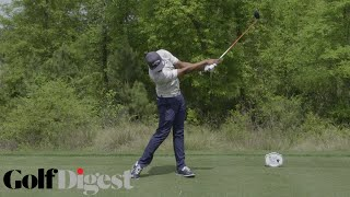 Tony Finau's Golf Swing Analyzed by David Leadbetter | Swing Analysis | Golf Digest