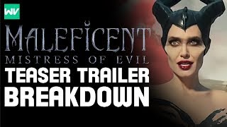 Complete Maleficent 2 Teaser Trailer Breakdown, Analysis & Theories!