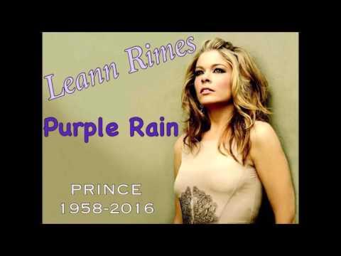 Leann Rimes: Purple Rain...