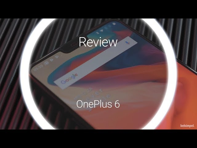 Belsimpel.nl-productvideo voor de OnePlus 6 128GB Midnight Black