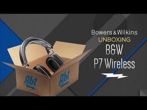 Unboxing: Bowers & Wilkins P7 Wireless Headphones