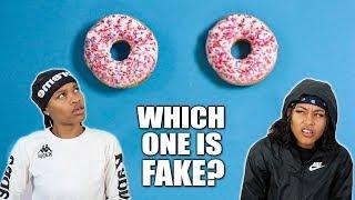 REAL VS FAKE CHALLENGE!!
