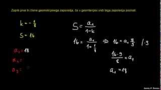 Vsota geometrijske vrste 4
