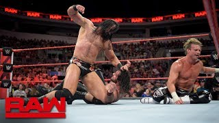 Roman Reigns & Seth Rollins vs. Dolph Ziggler & Drew McIntyre: Raw, July 2, 2018