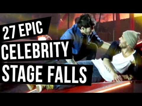 27 Celebrity Falls That Will Make You Cringe