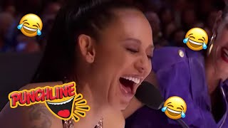 AUDITIONS That Will Leave You LAUGHING OUT LOUD On Britain's & America's Got Talent | Punchline